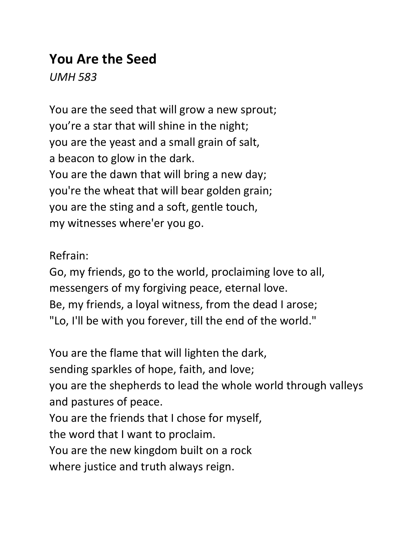 Songs and Scripture-3